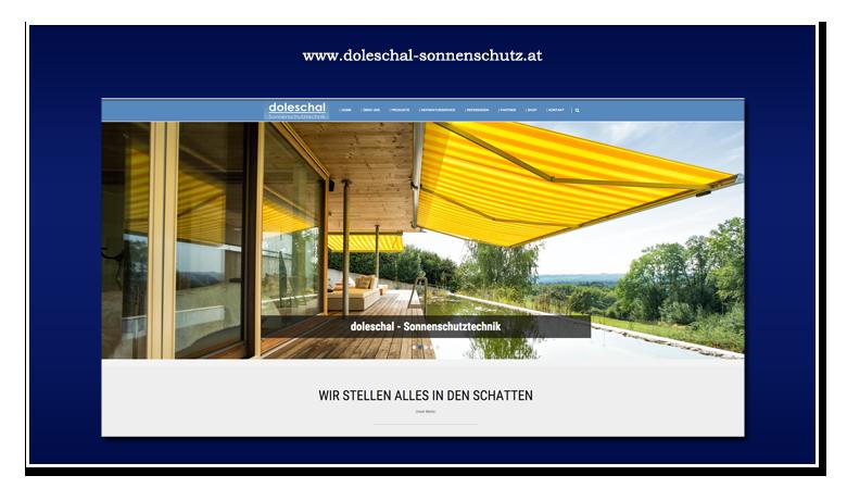 werbeagentur hassijun - www.hassijun.com - Schwertberg - Linz - Hans Peter Lorenz - Kundenzufriedenheit - CMS - WordPress - responsive - Doleschal Sonnenschutz