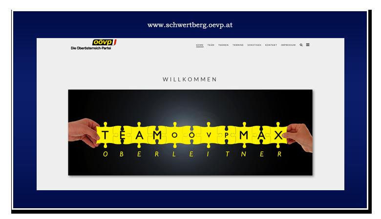werbeagentur hassijun - www.hassijun.com - Schwertberg - Linz - Hans Peter Lorenz - Kundenzufriedenheit - CMS - WordPress - responsive - ÖVP Schwertberg